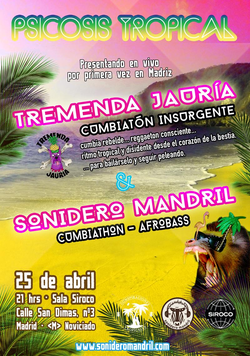 TREMENDA JAURÍA – Cumbiatón Insurente 25/04/2015