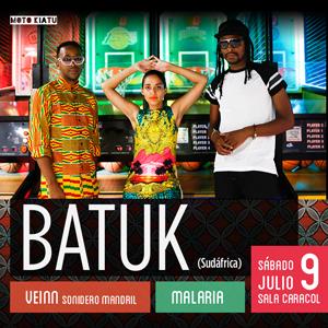 9-JUL: Batuk: Electrónica sudafricana en Madrid