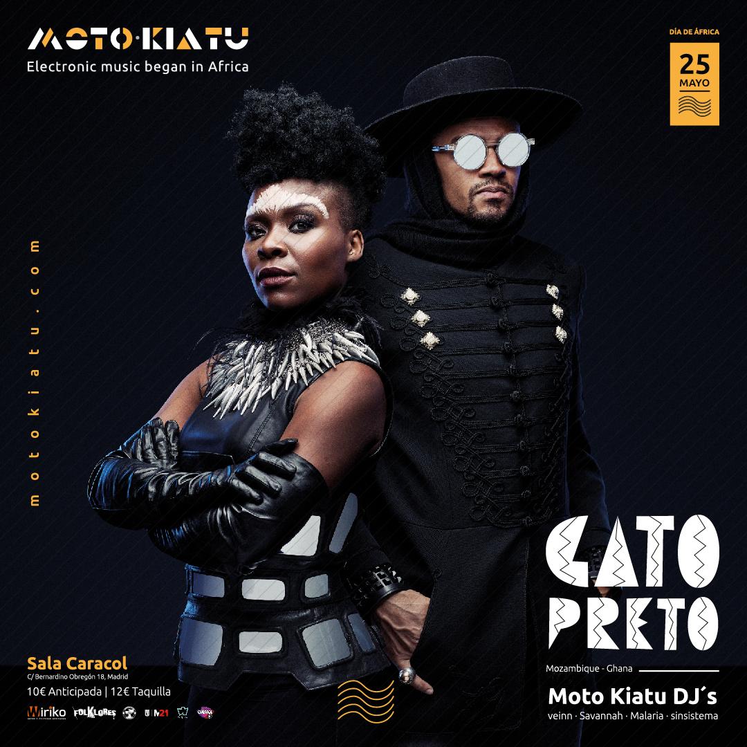 MAY 25: Gato Preto, el afrofuturismo llega a Madrid