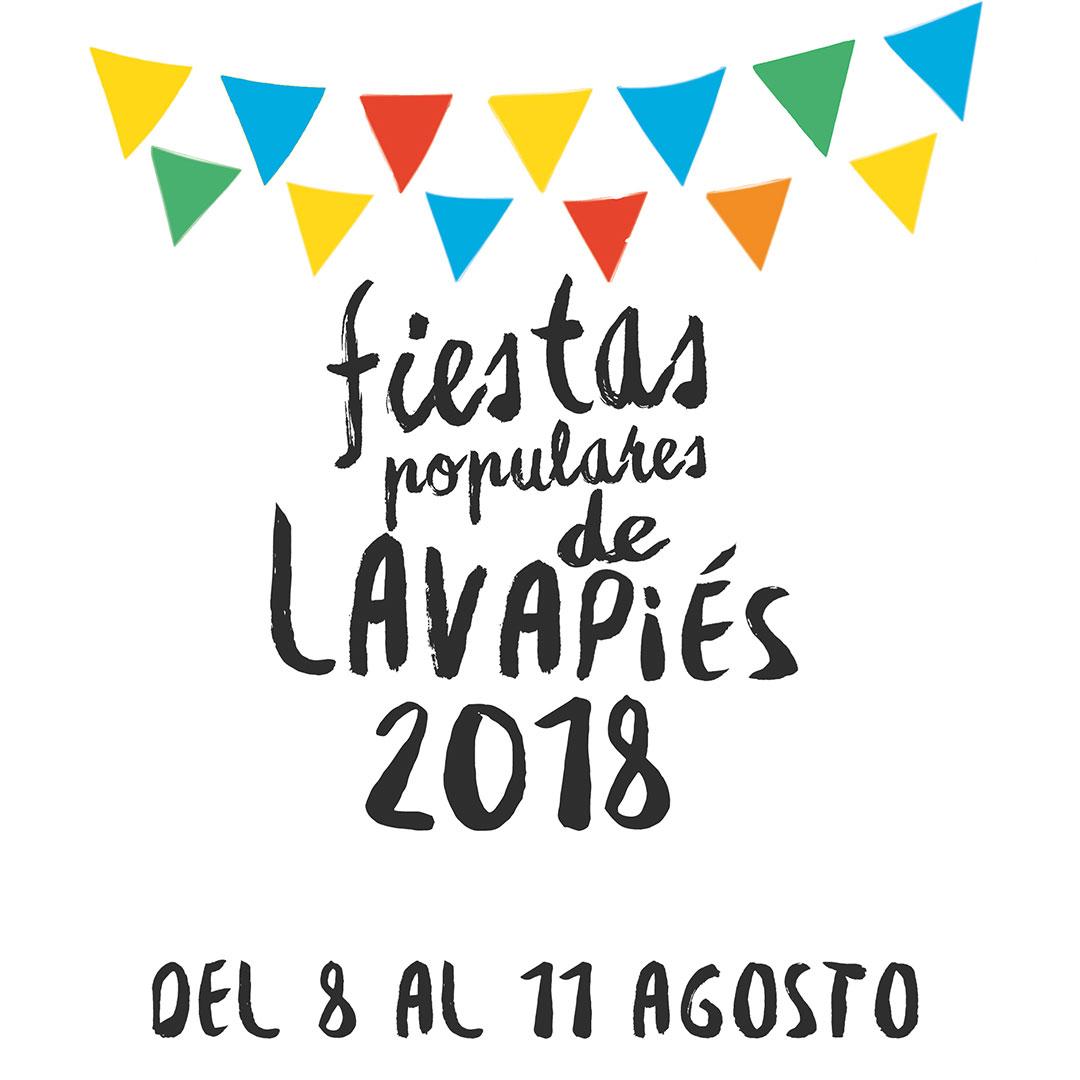 Estaremos en las  Fiestas Populares de Lavapiés 2018